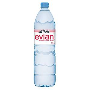 Evian Natürliches Mineralwasser ohne Kohlensäure