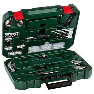 Boîte à outils Bosch Promoline, 111 pièces, vert