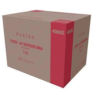 Avalon yleis- ja siivousliina 40 x 60cm 5kg
