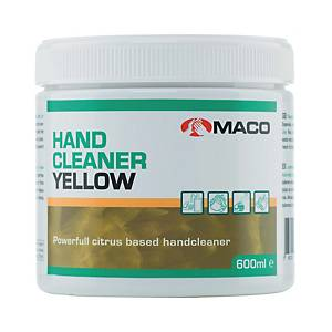 MACO HAND CLEANING PASTE YELLOW 500G