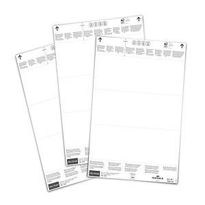 /Fogli microforati Durable con 60 inserti 210 x 64 mm bianco - conf. 20