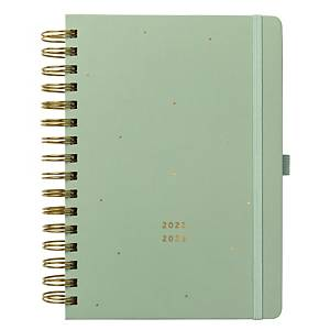 BUSY B 17 Month Week To View Academic Planner A5 Teal