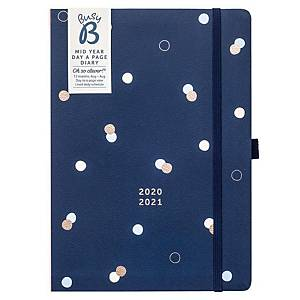 BUSYB Day A Page Academic Diary A5 Navy