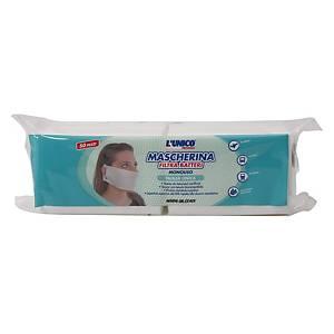 /Mascherina monouso filtra batteri l Unico - conf. 50