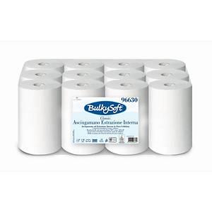 Bulky Soft Classic Midi Rolle mit Innenabrollung 96630, weiß
