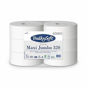 Bulky Soft Premium Jumbo Toilettenpapier 65005 weiß, 2-lagig
