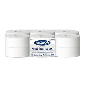 Bulky Soft Premium Mini Jumbo Toilettenpapier 65002 weiß, 2-lagig