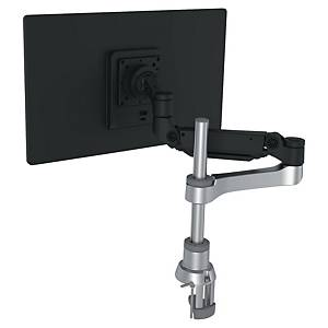 Bras support écran R-Go Tools Caparo - à pince - 1 écran - noir/argent
