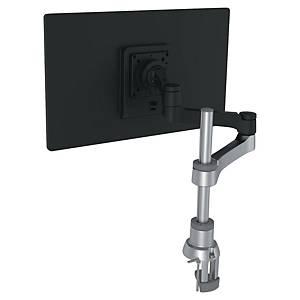 Bras support écran R-Go Tools Zepher - à pince - 1 écran - noir/argent