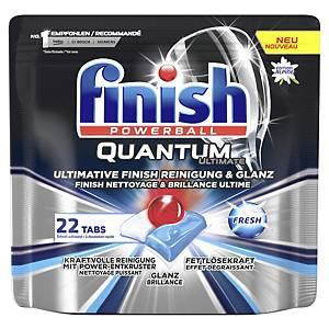 Geschirrspül-Tabs Finish Quantum Ulti., Packung à 22 Stück, Produktspez. Duft