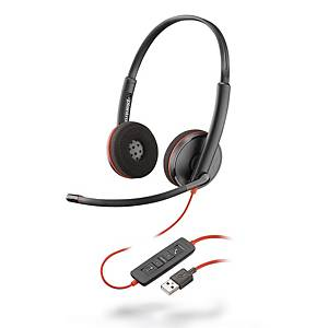 Plantronics Blackwire 3220 Dual Wired Headset