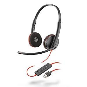Plantronics Blackwire 3220 有線耳機