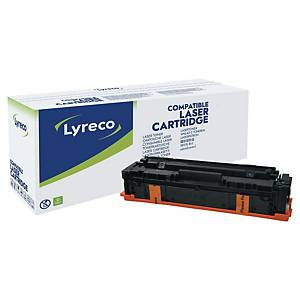 Lyreco compatibele HP M254 (CF540X) toner cartridge, zwart, hoge capaciteit