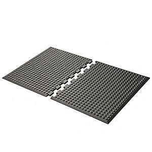 GetUpMat Puzzle seisomatyöpistematto päätypalat, 1 kpl= 2 palaa
