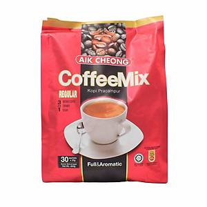 Aik Cheong 3 in 1 Coffee Mix 20G Pack of 30 - Regular