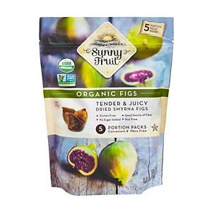 Sunny Fruit Organic Dried Figs 50g - Pack of 5