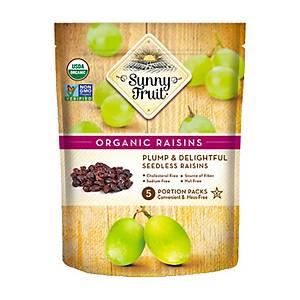 Sunny Fruit 有機提子乾50克 x 5包裝