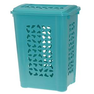 Pyykkikori aqua kannella 60 L