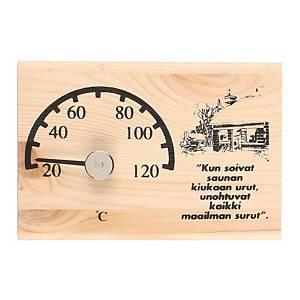 Saunan lämpömittari 13cm
