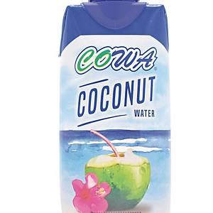 Cowa Coconut Water 330ml - Pack of 12