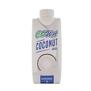 Cowa Coconut Juice Drink 330ml - Pack of 12