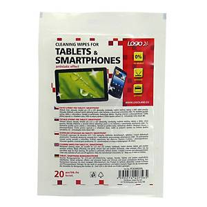 PK20 LOGO CLEAN WIPES FOR TAB & S/PHONE