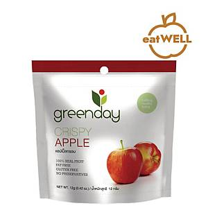 GREENDAY 香脆蘋果片12克 x 2包裝