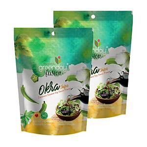 GREENDAY 秋葵脆脆 日式醬油味14克 x2包裝