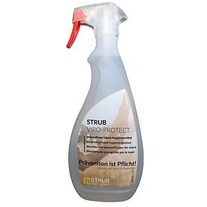 Detergente disinfettante Strub Viro-Protect per mani e superfici, 750ml