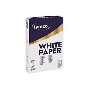 500 folhas de papel Lyreco Premium - A4 - 80 g/m²