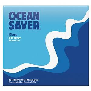 Oceansaver Glass Cleaner EcoDrop Sea Spray - Pack of 20