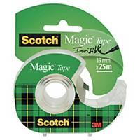 Tapedispenser Scotch + 1 rull Scotch Magic-tape, 19 mm x 25 m