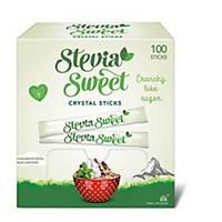 Bâtonnets Stevia Sweet 2g, paquet de 100 pièces