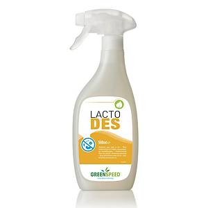 Greenspeed Lacto Des desinfecterende spray, 500 ml, pak van 6