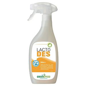 Flächendesinfektionsspray Greenspeed Lacto Des auf Milchsäure-Basis, 500ml