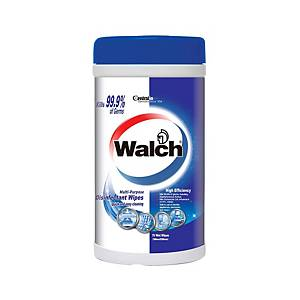WALCH Disinfectant Wipes 75 Sheets