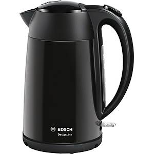 Elkedel Bosch TWK3P423, 1,7 L, sort