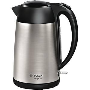 Elkedel Bosch TWK3P420, 1,7 L, rustfrit stål