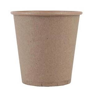 PK2000 ECO DISPOSABLE PAPER CUPS CLEAR