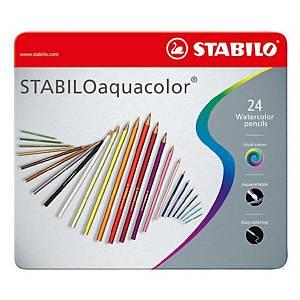 Stabilo Aquacolour Pencils Assorted - Box of 24