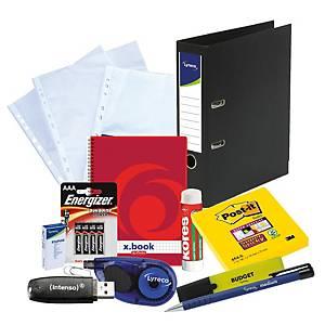 Das Büromaterialpaket für die Arbeit von Zuhause