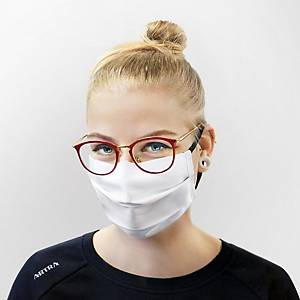 Protection textile mask from OEKO-TEX®, 2 layers, 20 pieces