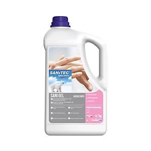 /Gel igienizzante mani Sanitec Sani Gel 4,7 Kg