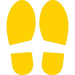 CEP 7010/22 SET OF 2 FOOTPRINTS YELLOW