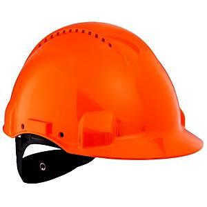 Casque de sécurité 3M Peltor G3000NUO, ABS, 53-62cm, orange
