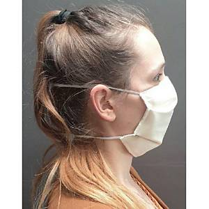 Masque barrière à usage non sanitaire Boldo R Max - catégorie 1 - tissu - par 50