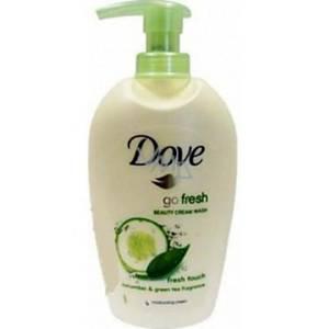 Tekuté mýdlo Dove okurka/zelený čaj s dávkovačem 250 ml
