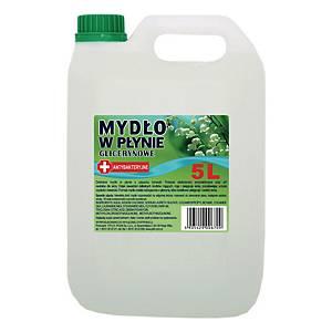 Mydło w płynie antybakteryjne, miks zapachów, 5 l