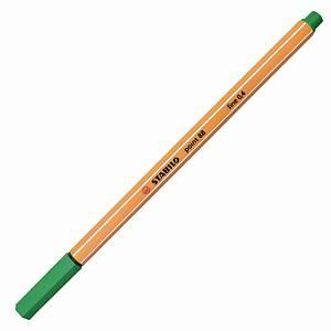 Stabilo Point 88 Fineliner Green Pen 0.4mm Line Width