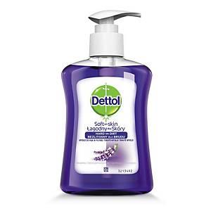 Dettol antibakteriális folyékony szappan pumpás adagolóval, levendula, 250 ml